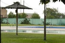 Tancament preventiu de les piscines de Bellvís