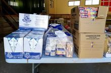 El Consell Comarcal del Segrià reparteix 30.000 quilos d'aliments