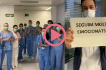 #VÍDEO | Sanitaris de l'Arnau agreixen tot el suport de la ciutadania