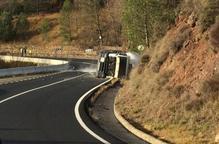 Accident d'un camió a Sopeira