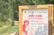 La Seu d'Urgell tanca al públic el parc caní de l'Horta del Valira a causa de l'estat d'alarma
