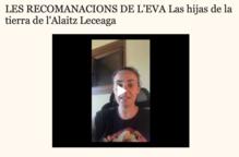 Aquesta setmana l'Eva recomana 'Las hijas de la tierra de l'Alaitz Leceaga'