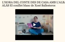 L'hora del conte des de casa amb l'Alba Alàs