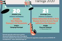 Tàrrega reactiva el sector cultural amb dos concerts de petit format