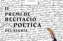 El Consell Comarcal del Segrià obre la convocatòria al Premi de Recitació Poètica