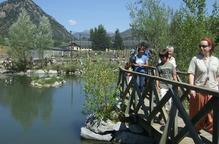 El centre de fauna del Pont, amb capacitat per a 500 tritons