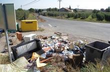 La Paeria identifica 5 persones per abocaments il·legals a l'Horta