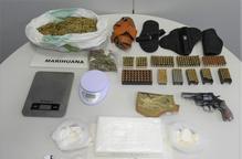 Detingut un veí de Lleida per tràfic de drogues i tinença d'armes