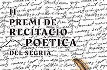 Torna el Premi de Recitació Poètica del Segrià