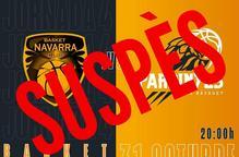 Suspès el partit del CB Pardinyes contra el Basket Navarra Club