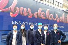 El Bus de la Salut de Lleida valora les seqüeles de la covid-19 en persones amb factors de risc