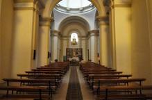 Sense misses a l'església del Miracle de Balaguer