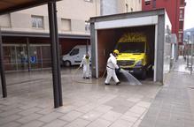 Arxiu desinfecció Seu d'Urgell