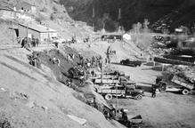 Les Valls d'Àneu reben més de 440 imatges històriques de la construcció de les centrals hidroelèctriques
