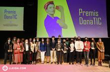 L'emprenedora Cristina Corchero i l'empresària María Jesús Salido, premis Dona TIC 2021