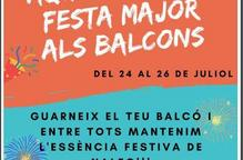 Festa Major als balcons