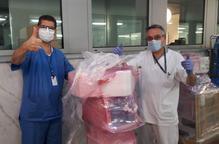 Sanitat reparteix 50 nous respiradors a cinc hospitals catalans
