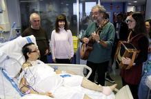 L'Hospital Arnau de Vilanova i l'Orfeó Lleidatà estrenen un projecte pioner de musicoteràpia a l'UCI