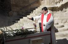 Les parròquies s'adapten al confinament per celebrar el Diumenge de Rams
