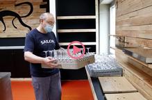 Arxiu treballador copes vidre desescalada fase 1 desconfinament