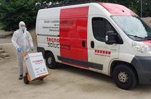 La Fundació Aspros posa en marxa un servei de recollida i destrucció d'EPI