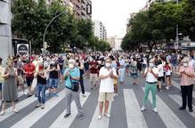 ⏯️ Lleida surt al carrer contra el confinament