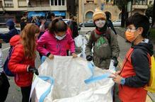 Uns 160 escolars del Pallars Sobirà netegen els rius de la comarca