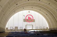 ⏯️ Instal·len un segon hangar de reparació i manteniment a l'aeroport de Lleida-Alguaire