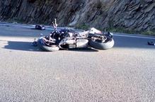 Mor un motorista en un accident a la carretera C-13 a Llavorsí