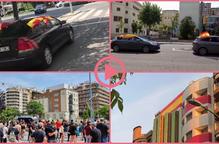 ⏯️ Manifestacions de Vox i antifeixistes als carrers de Lleida