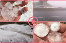 ⏯️ Cauen tempestes amb pedra repartides per Ponent