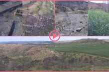 ⏯️ La zona cremada per l'incendi de la Ribera d'Ebre, un any després a vista de dron