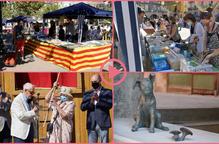 ⏯️ L'Encontats homenatja Josep Vallverdú amb una escultura del popular personatge Rovelló