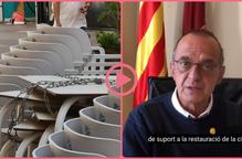 ⏯️ Pueyo reclama ajuts per a la restauració de Lleida davant el tercer tancament