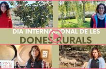 ⏯️ La Noguera homenatja les seves Dones Rurals