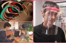 La UdL i particulars se sumen a imprimir material sanitari en 3D