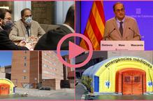 ⏯️ El Govern confina la comarca del Segrià per l'increment de contagis de la Covid-19