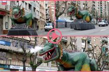 ⏯️ El Marraco passeja pels carrers de Lleida per animar el Sant Jordi