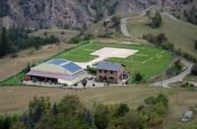 El president del Sobirà no està disposat que la comarca perdi el servei de l'helicòpter de Tírvia