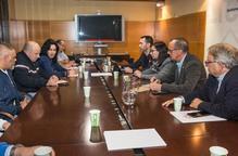 Reunió de la Paeria i representants del comitè d'empresa de Sada per l'ERO anunciat a l'escorxador