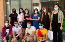Alumnat de l'IMO recapta fons per a Afanoc