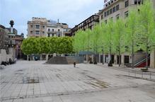 La Paeria plantarà 22 arbres a la plaça Sant Joan de Lleida 1