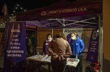 Punt Lila i intervenció dels Equips Nits Q a les Festes de la Tardor