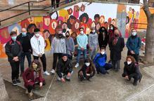 Un mural per a la tolerància