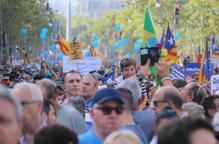 """Lleida-Barcelona, un viatge per cridar """"No tinc por"""""""