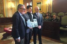Marc Màrquez rep el premi Internacional Ciutat de Lleida