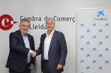 La Cambra de Comerç de Lleida i CaixaBank renoven l'acord per incrementar la competitivitat de les empreses