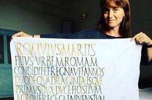 Laia Soler, o com plasmar l'estima per les lletres amb un pinzell