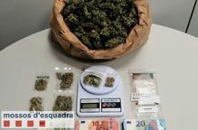Detinguts un home i un menor d'edat per vendre marihuana a Lleida