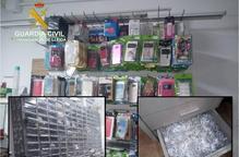 La Guàrdia Civil intervé material falsificat en un municipi de Lleida